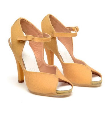 maison martin MARGIELA textured rubber sandals