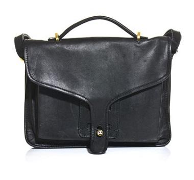 opening ceremony leather satchel